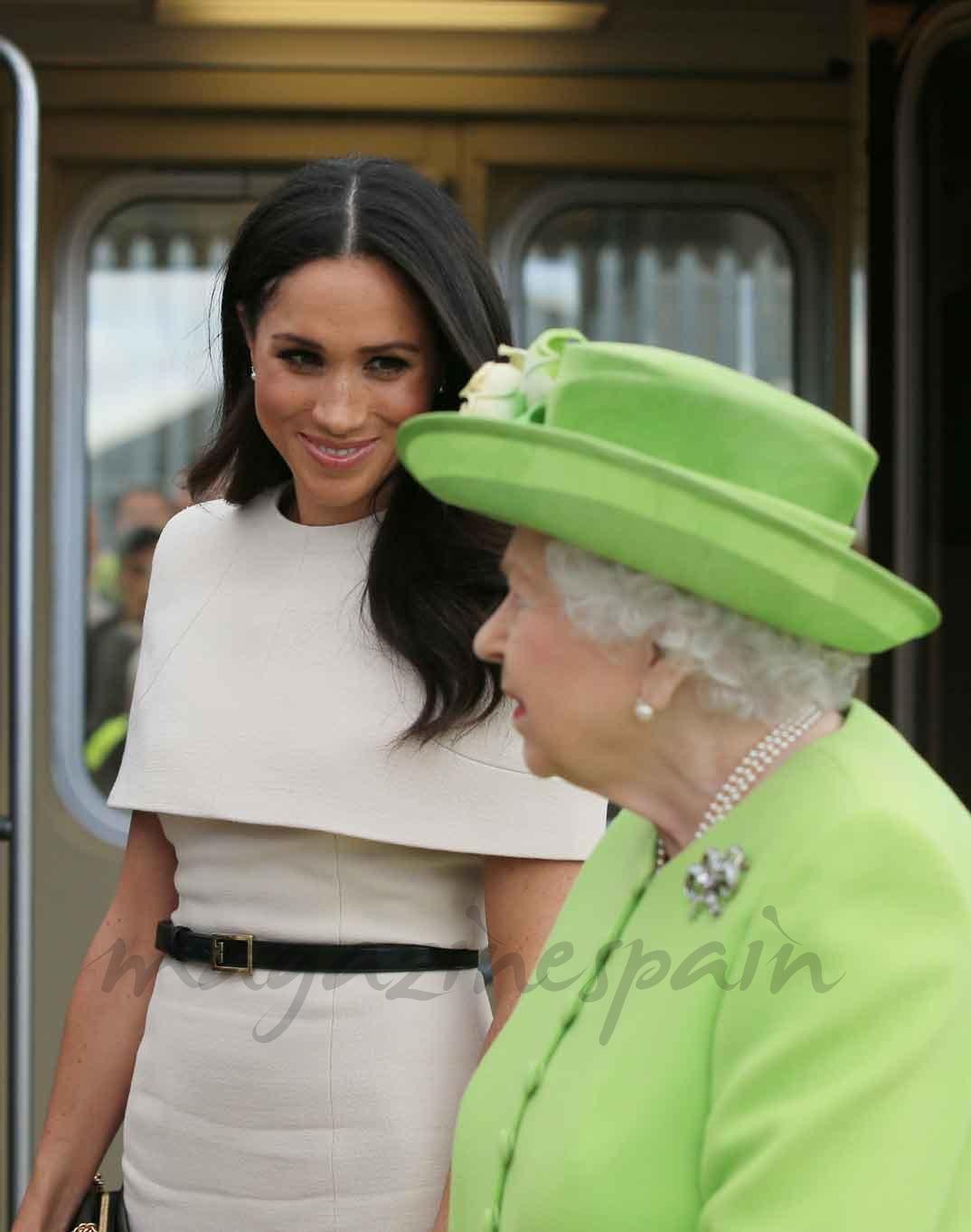 MeghanMarkle y la reina de Inglaterra