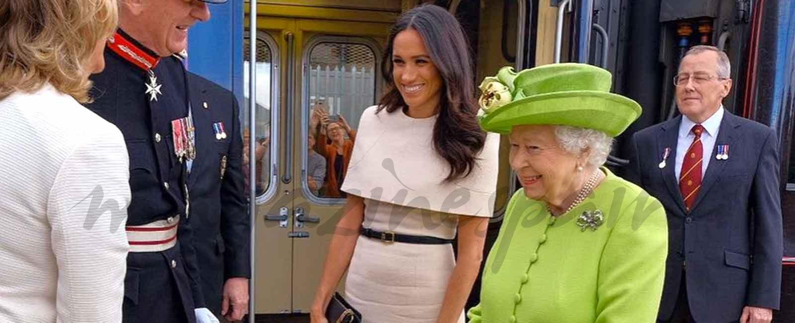 "Meghan Markle, primera cita ""a solas"" con la reina Isabel II"