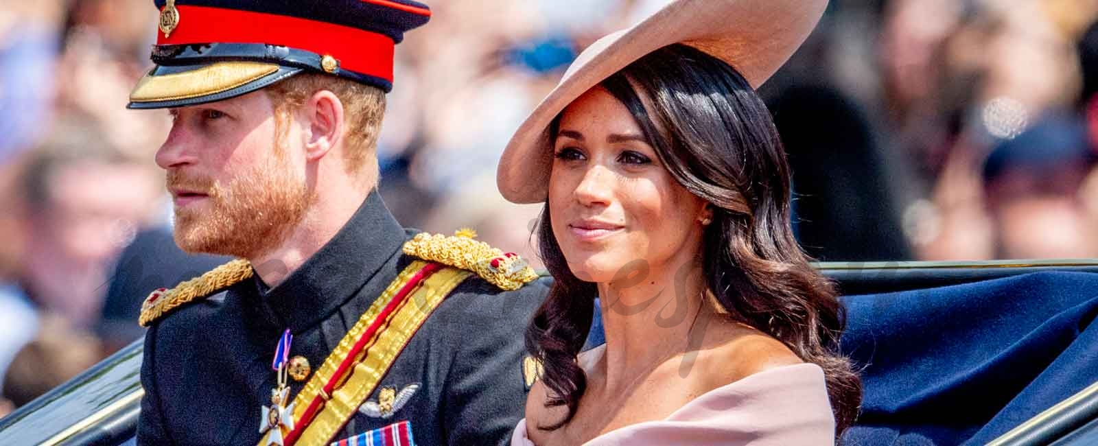 "El debut de Meghan Markle en el tradiconal ""Trooping the Colour"""