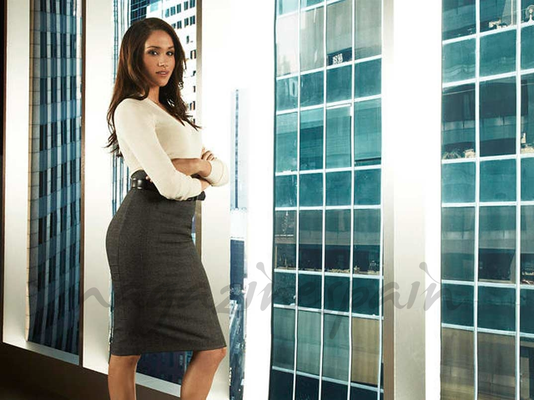 "Meghan Markle en ""Suits"" - © USA Network"