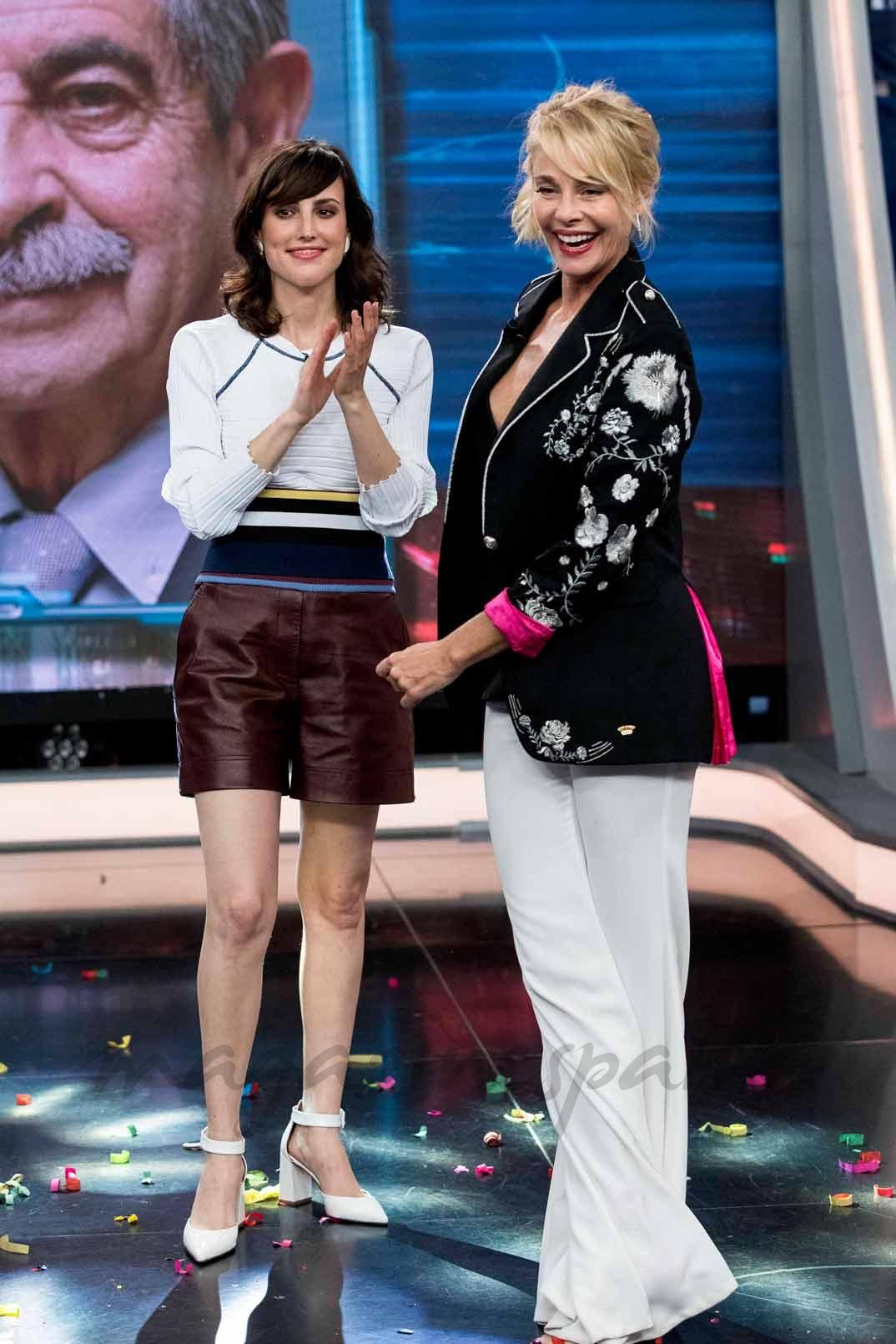 """Belén Rueda y Natalia de Molina en """"El Hormiguero"""""""