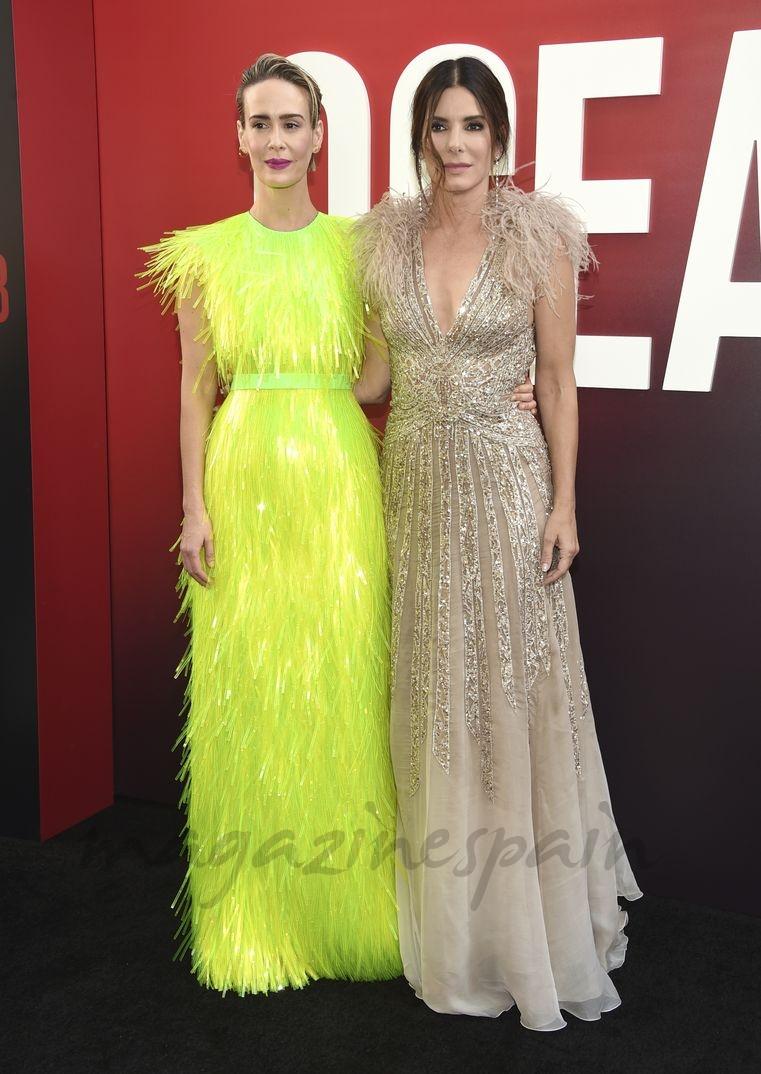 Sarah Paulson y Sandra Bullock