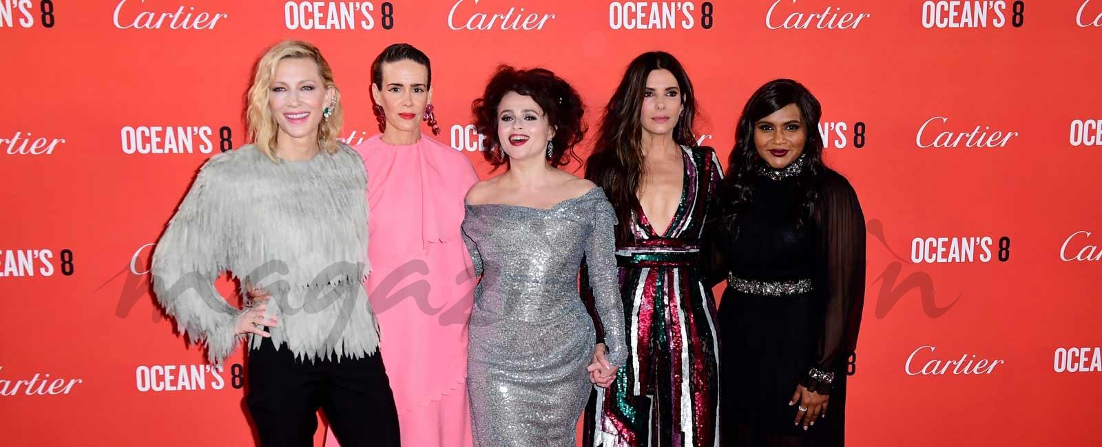 Las chicas de Ocean's 8 conquistan Londres