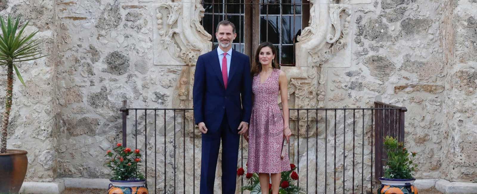 La reina Letizia, de estreno en San Antonio