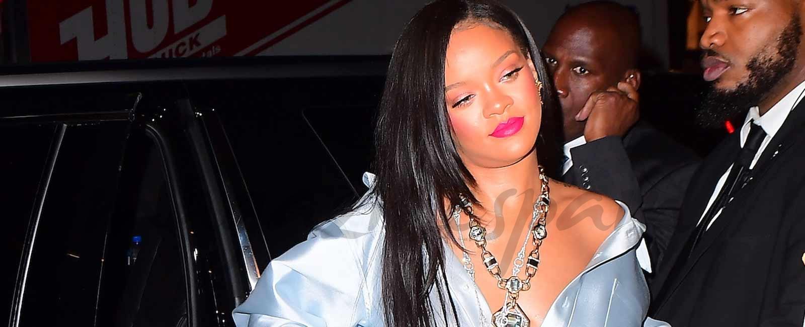 Rihanna rompe con su billonario novio saudí