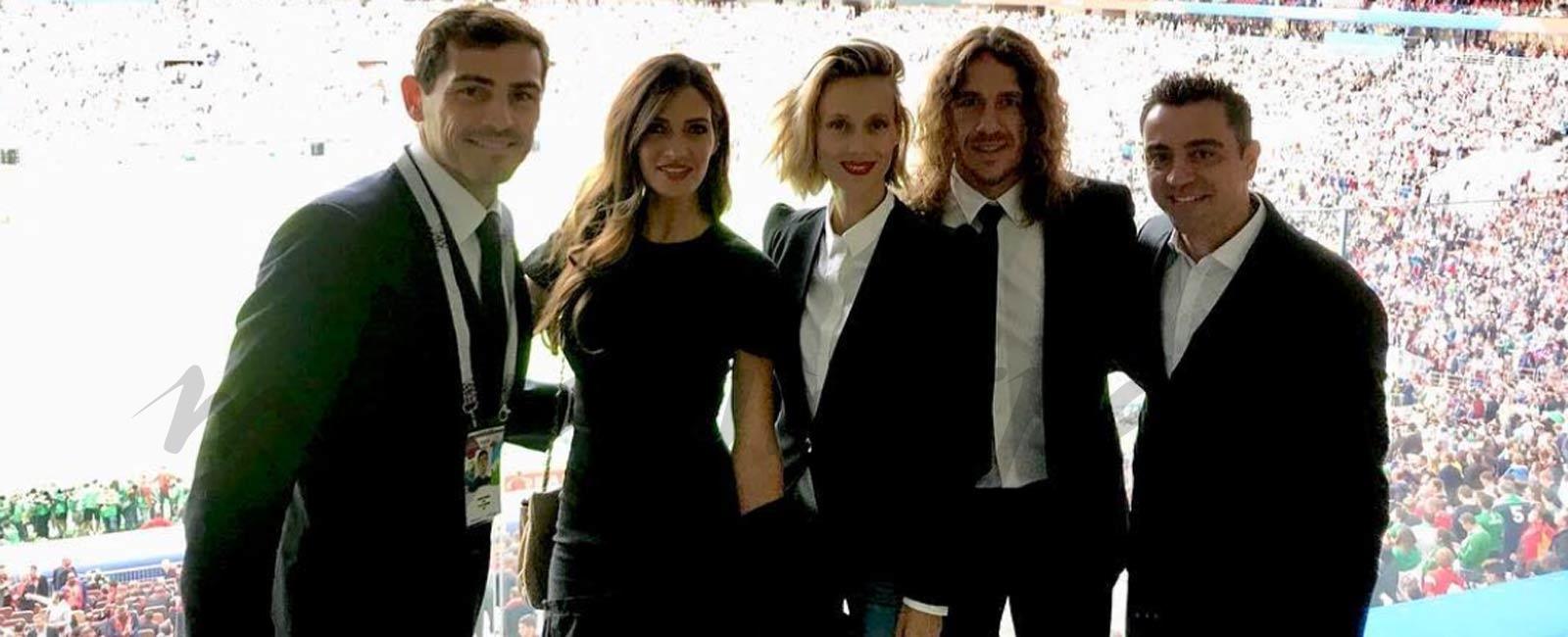 Sara Carbonero acompaña a Iker Casillas en la inauguración del Mundial de Rusia