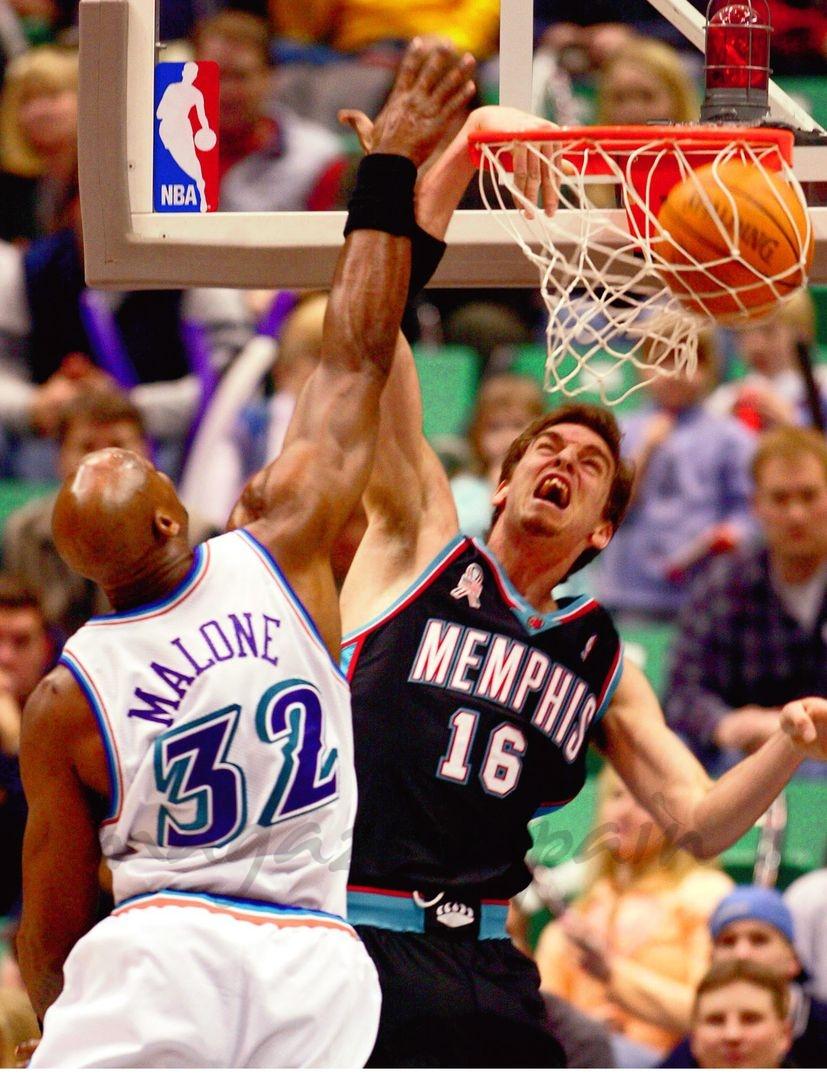 Pau Gasol - Jugador de los Memphis Grizzlies - 2002