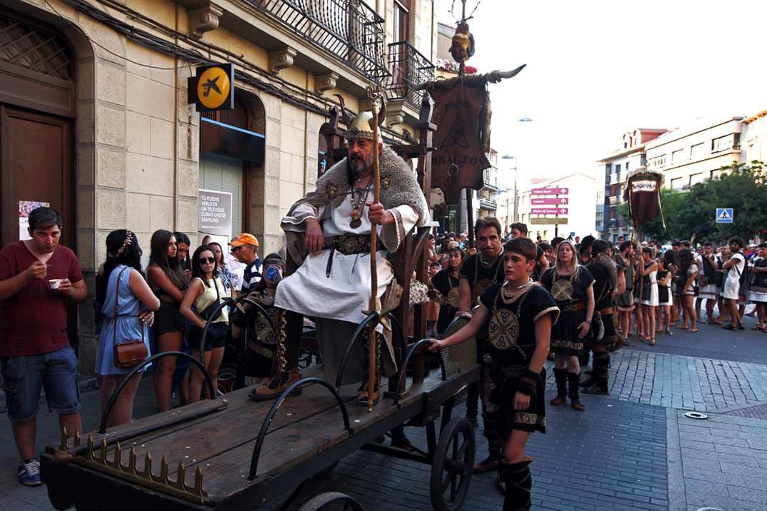 La fiesta de Astures y Romanos nos transporta al pasado en Astorga