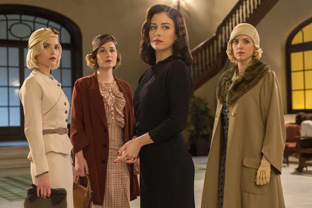 Las chicas del cable - Tercera Temporada - Netflix