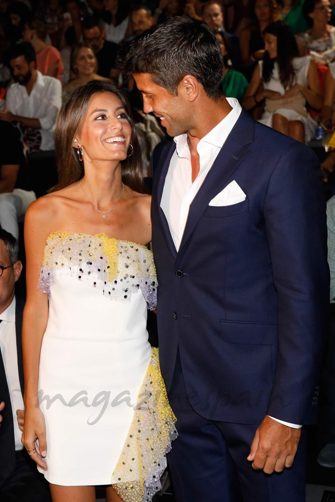 Ana Boyer y Fernando Verdasco, la pareja con más estilo del front row