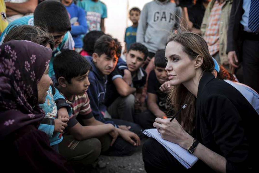 Angelina Jolie © UNHCR
