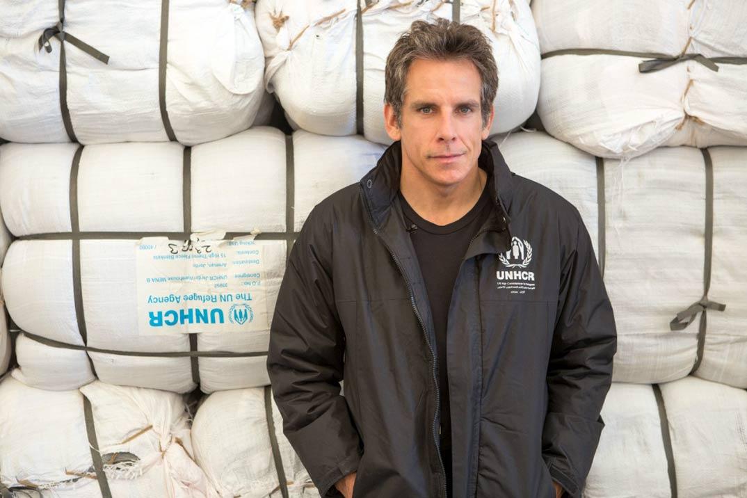 Ben Stiller, nuevo Embajador de Buena Voluntad de ACNUR