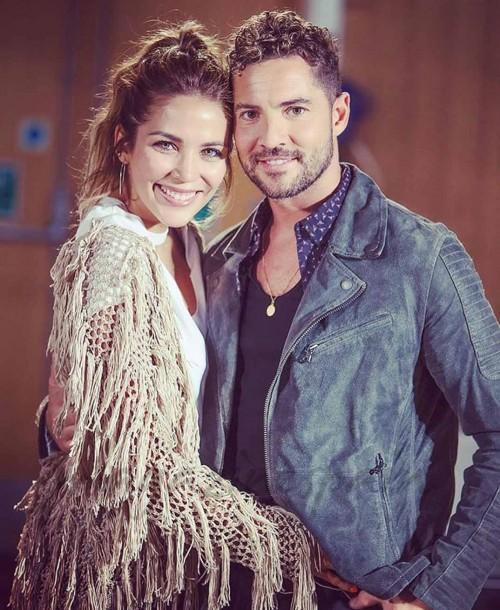 La boda secreta de David Bisbal y Rosanna Zanetti