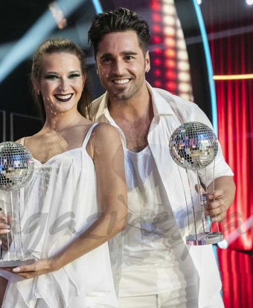 David Bustamante y Yana Olina, ganadores de 'Bailando con las estrellas'