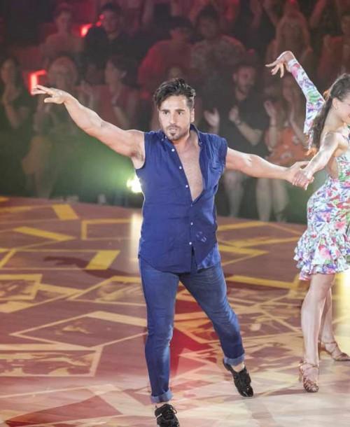 David Bustamante y Yana Olina se clasifican para la final con su baile más sexy