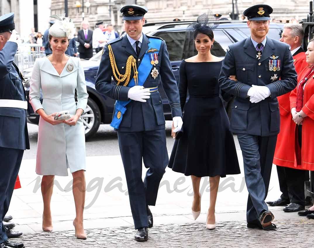 La duquesa de Cambridge retoma su agenda y protagoniza un nuevo duelo de estilo con Meghan Markle