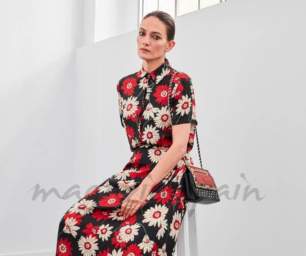 Laura Ponte y Roberto Verino, un outfit perfecto