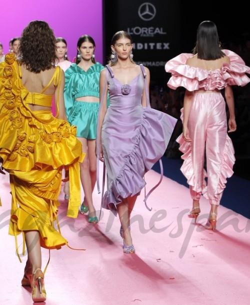 Mercedes Fashion Week Madrid: María Escoté Primavera Verano 2019