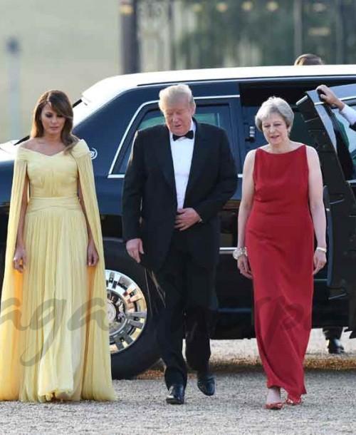 Melania Trump se viste de princesa