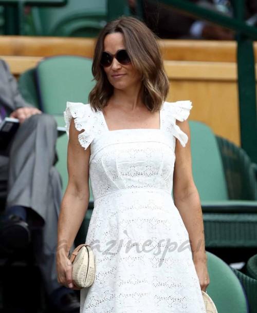 El perfecto look premamá de Pippa Middleton