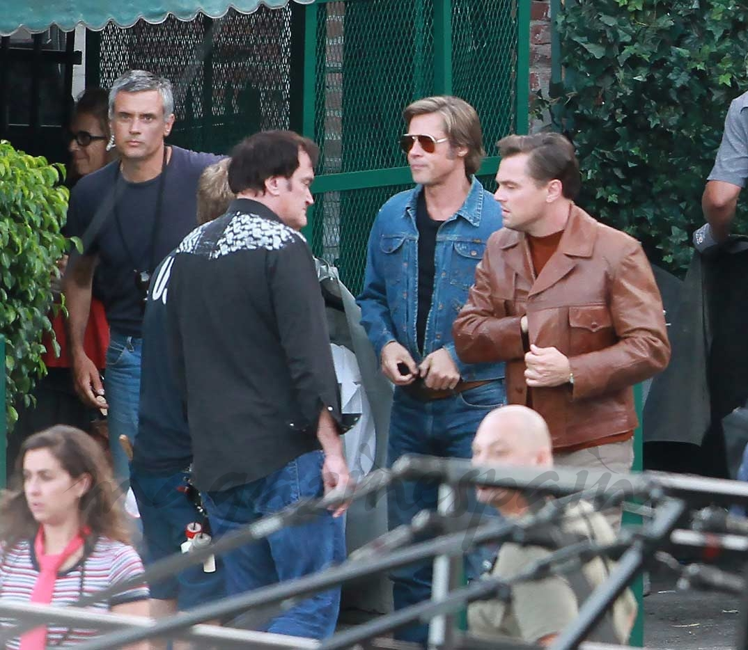 Brad Pitt y Leonardo DiCaprio, a las órdenes de Tarantino