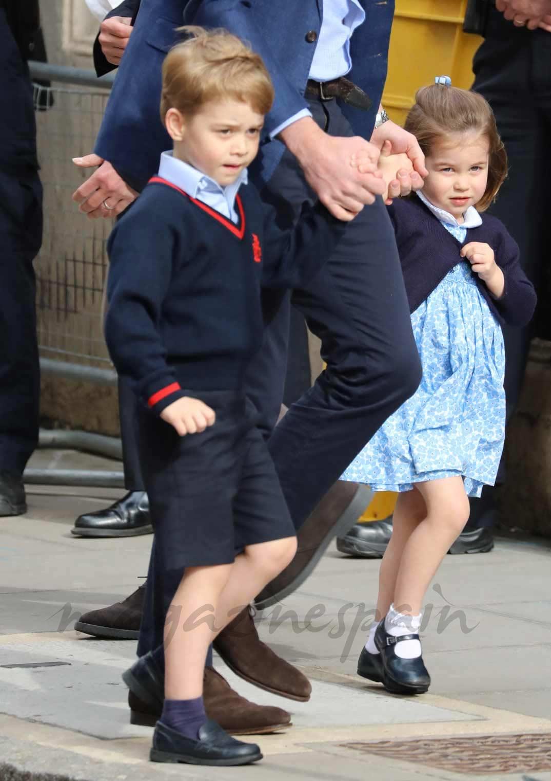 La simpática imagen de George de Cambridge a sus 5 años