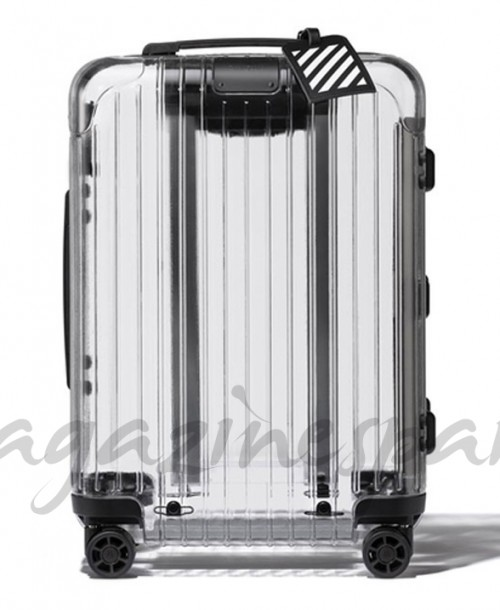 La maleta transparente Rimowa x Off-White