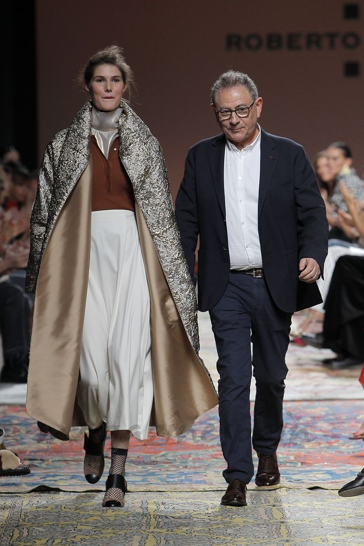 Mercedes Benz Fashion Week Madrid: Roberto Verino Otoño-Invierno 2018/2019
