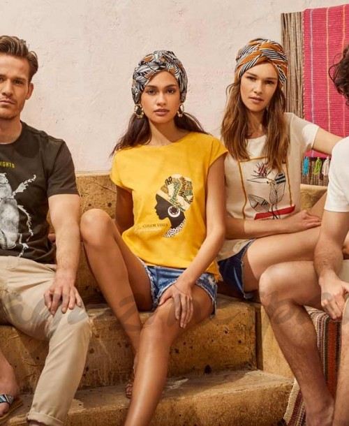 Springfield lanza una colección de camisetas con sello Cotton Made in Africa
