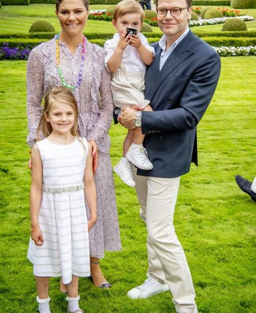 Victoria de Suecia celebra su 41 cumpleaños
