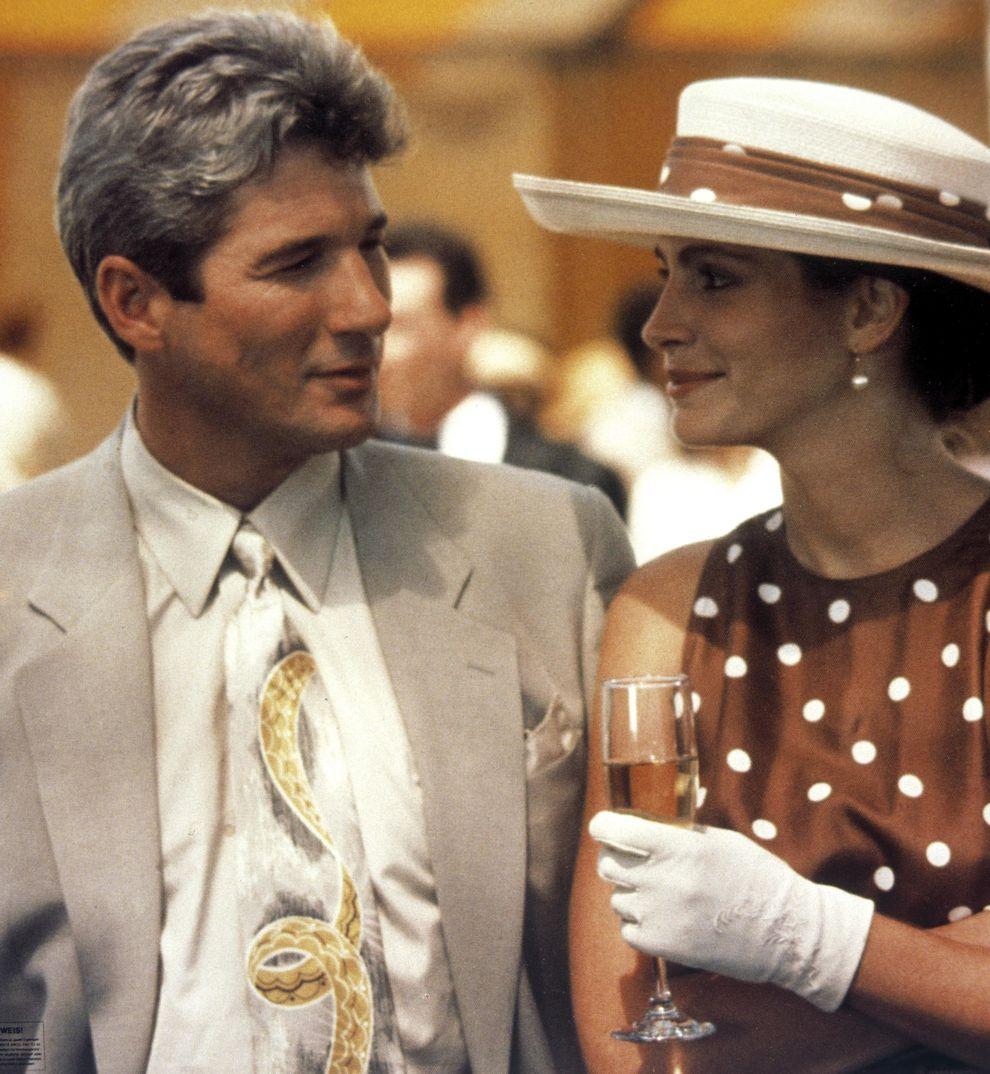 "Richard Gere y Julia Roberts en ""Pretty Woman"" - 1990"