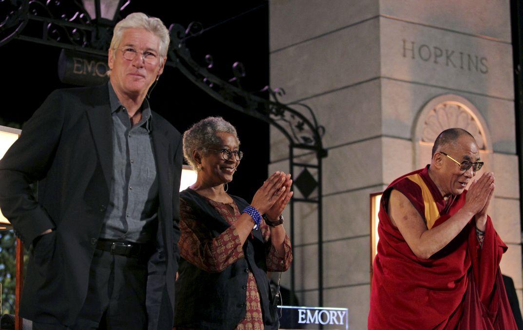 Richard Gere con Dalai Lama - 2010