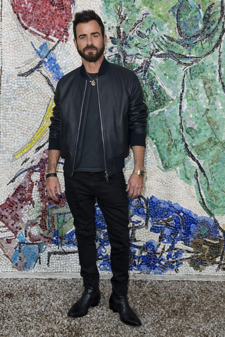 Justin Theroux- Presentación Louis Vuitton Cruise Collection - Paris - 2018