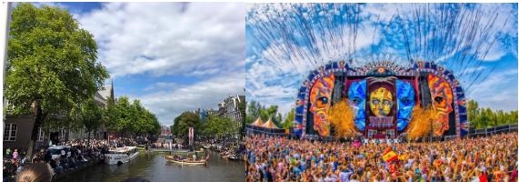 Amsterdam- Facebook: @Grachtenfestival/www.mysteryland.nl