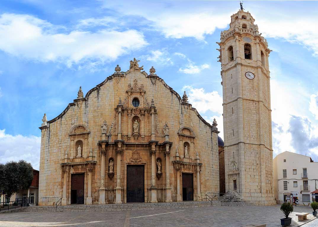 Iglesia-parroquial-y-campanario-Alcala-de-Xivert_Oficina-Turismo-Alcossebre