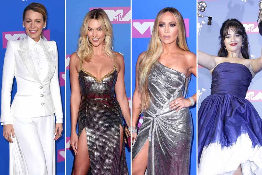 La alfombra roja de los MTV VMA 2018: Los mejores Looks