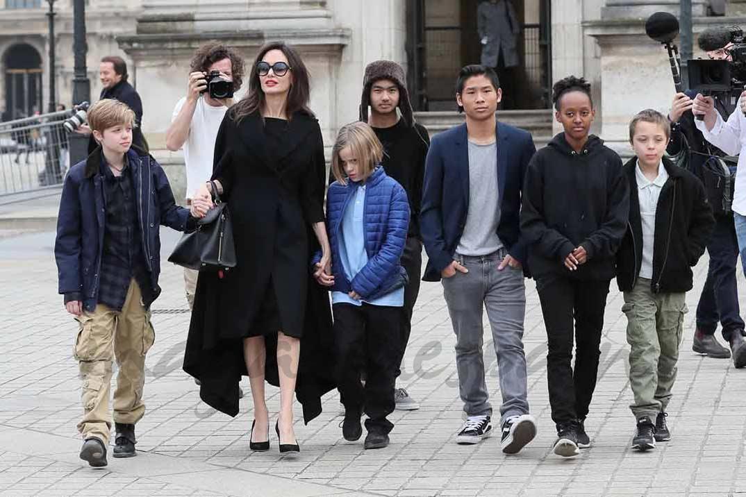 Angelina Jolie y Brad Pitt ¿acuerdo a la vista?