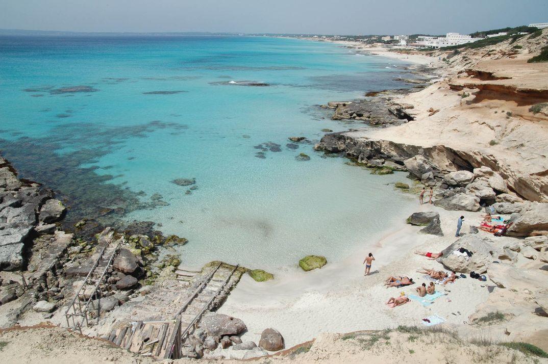 Caló des Mort - Formentera