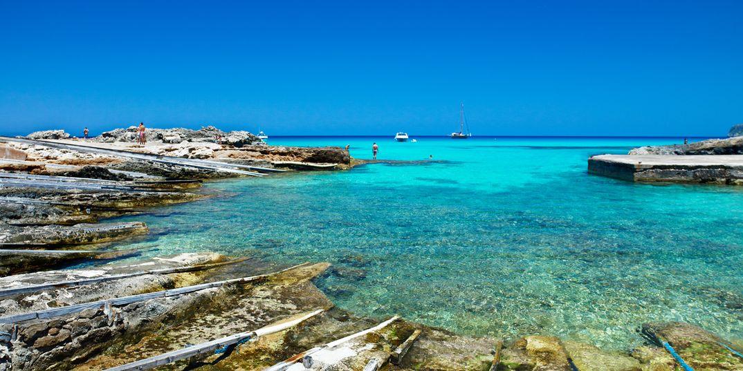 Es Caló de Sant Agustí - Formentera