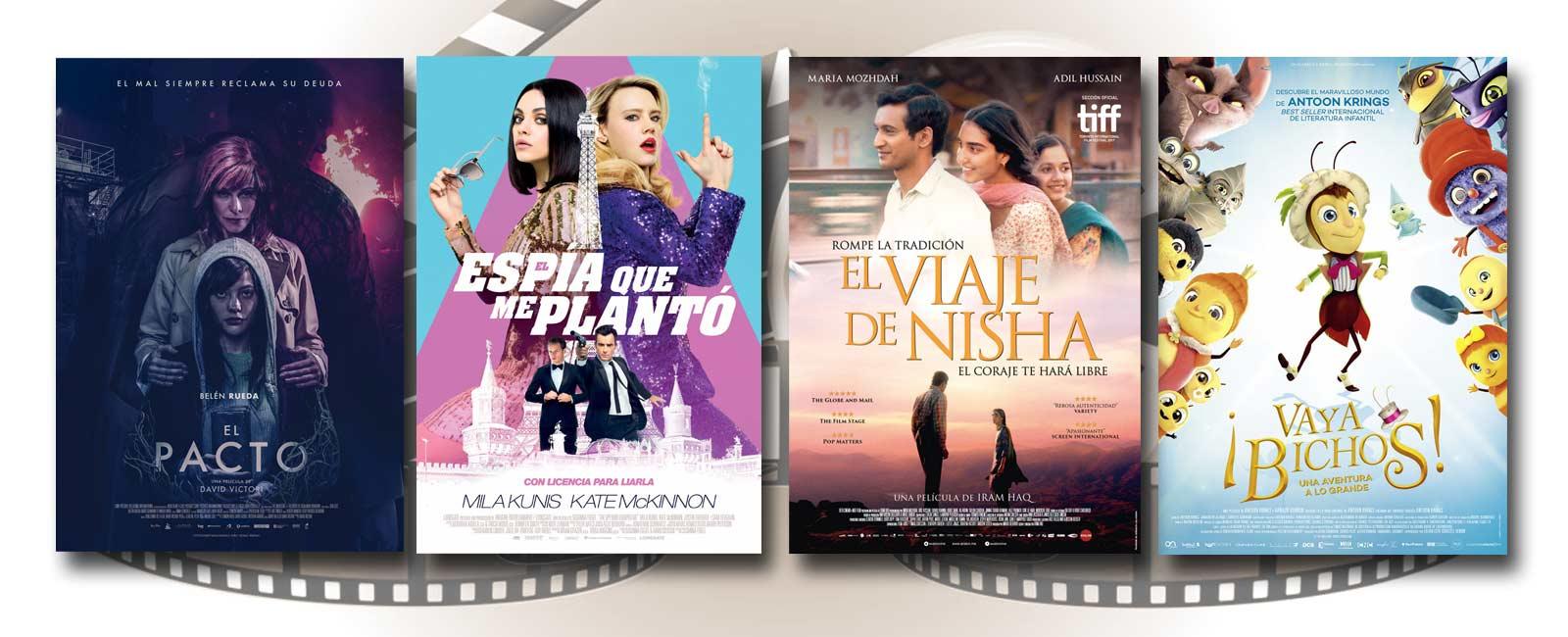 Estrenos de Cine de la Semana… 17 de Agosto 2018
