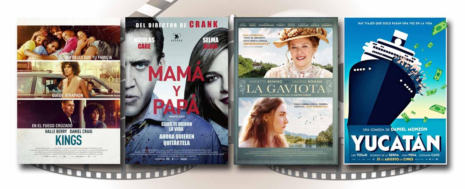 Estrenos de Cine de la Semana… 31 de Agosto 2018