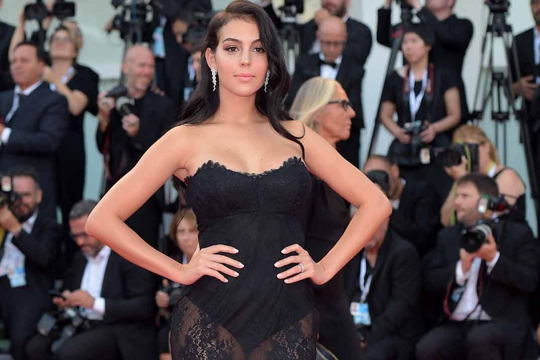Georgina Rodríguez, espectacular en la gala benéfica de Unicef