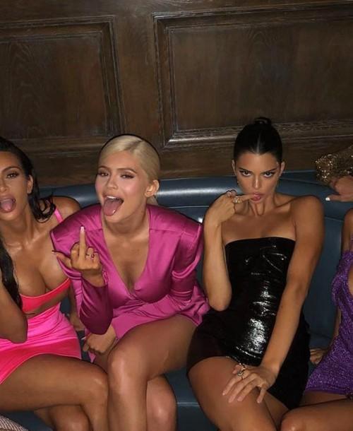 La fiesta «multicolor» del 21 cumpleaños de Kylie Jenner