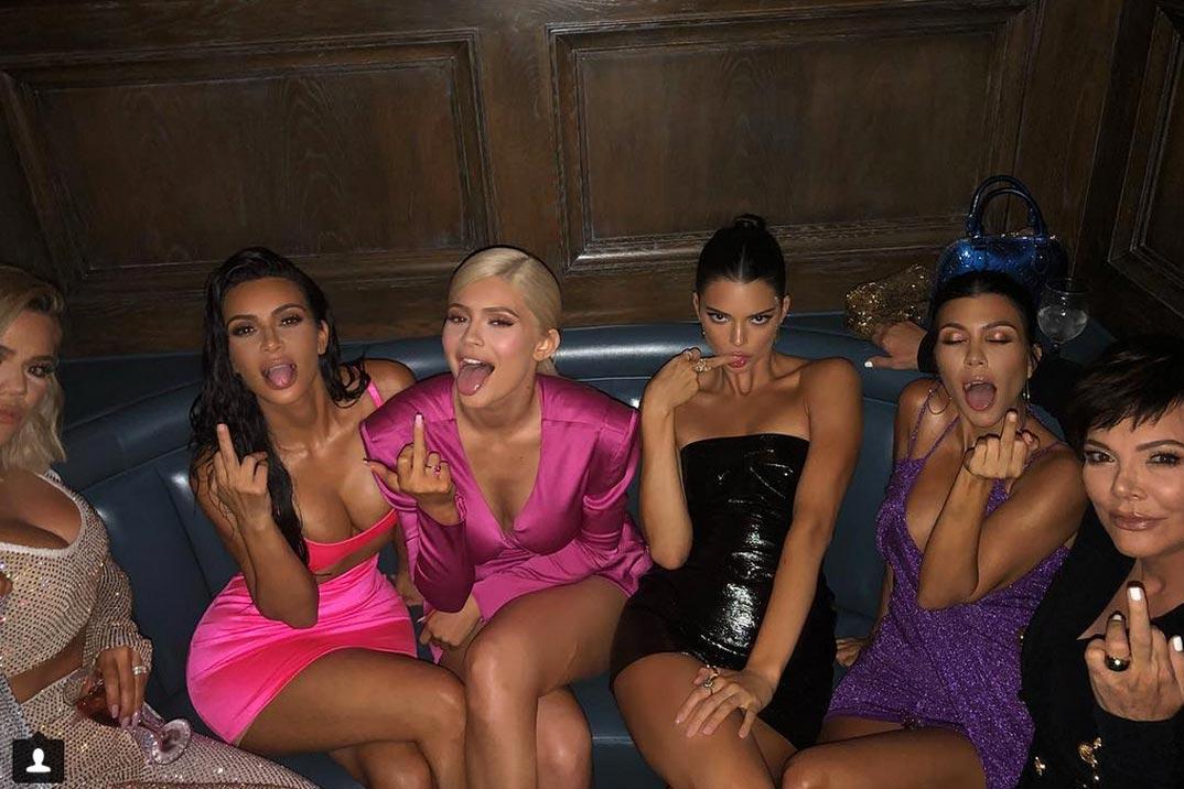 """La fiesta """"multicolor"""" del 21 cumpleaños de Kylie Jenner"""
