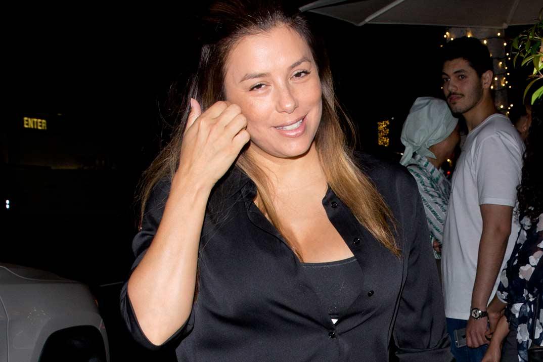 Eva Longoria, una mamá «agotada» pero muy feliz