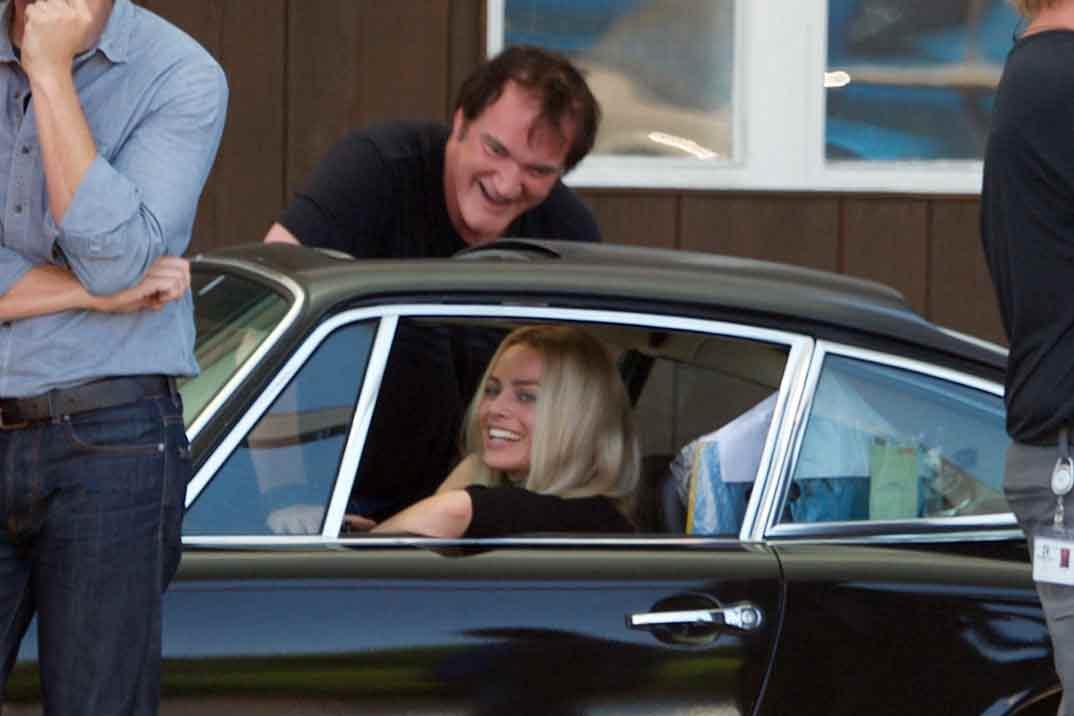 Primeras imágenes de Margot Robbie a las órdenes de Tarantino