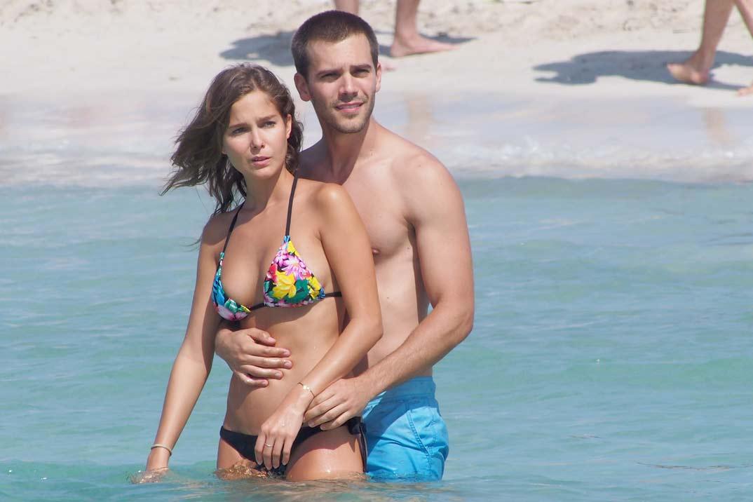 Natalia Sánchez presume de embarazo en bikini