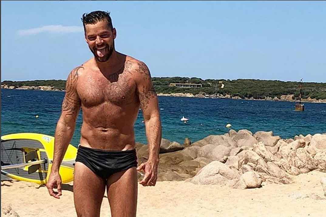 El cuerpo diez de Ricky Martin