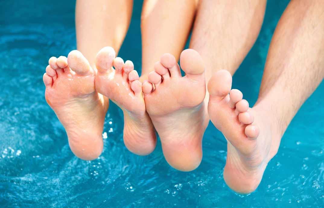 uñas piscina