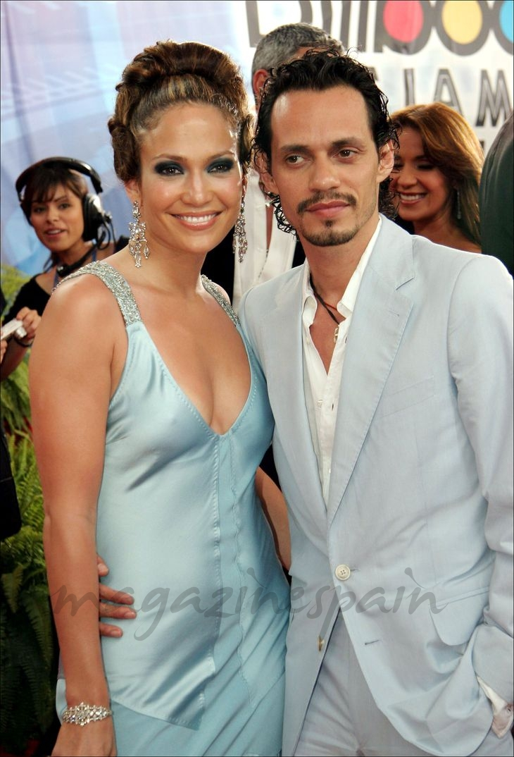 Marc Anthony con Jennifer López - Premios Billboard - 2005